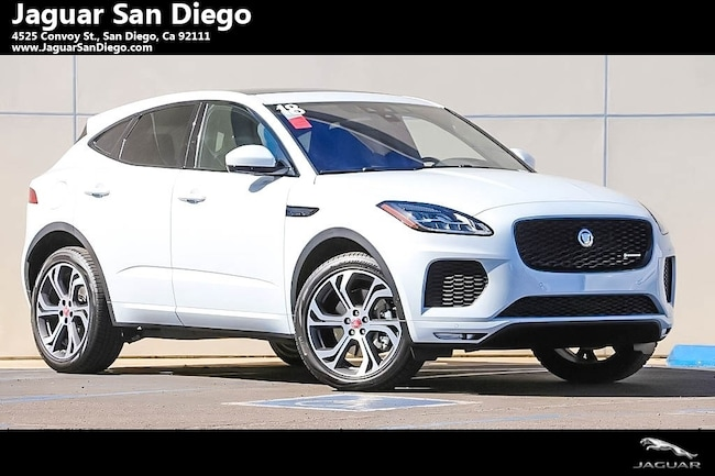 New 2018 Jaguar E-PACE First Edition SUV San Diego