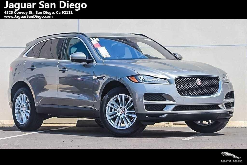 New 2018 Jaguar F PACE 20d Prestige SUV San Diego