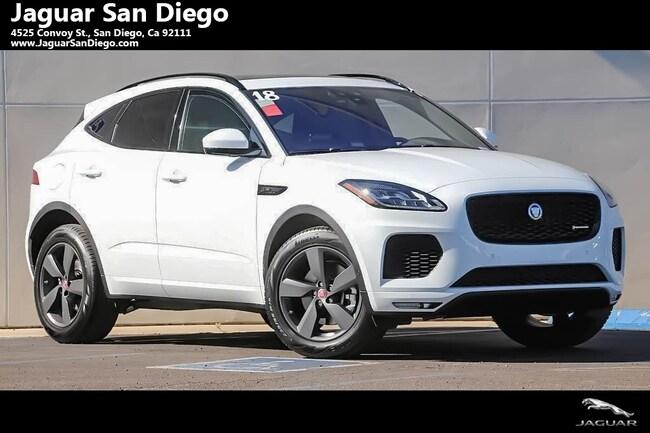 New 2018 Jaguar E-PACE R-Dynamic SE SUV San Diego