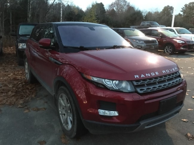 Pre-Owned 2012 Land Rover Range Rover Evoque Pure Plus SUV in Bedford, NH