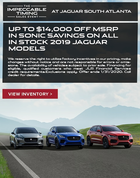 2019 Jaguar Purchase Special