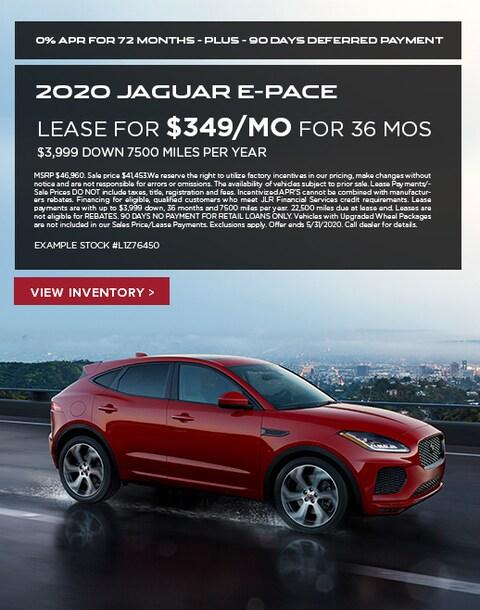 2020 Jaguar E-Pace Lease Specials