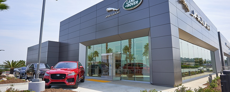 Exterior View Of Jaguar South Bay