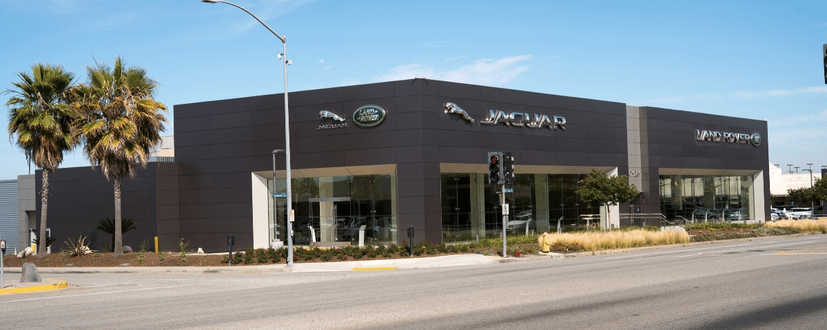 Outside view of Jaguar South Bay