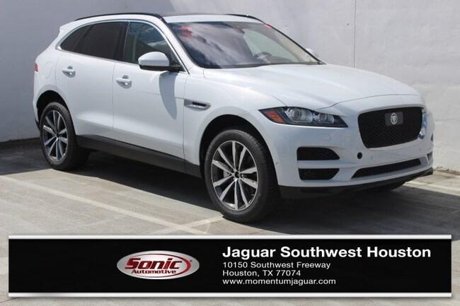New 2019 Jaguar F-PACE 30t Prestige SUV in Houston