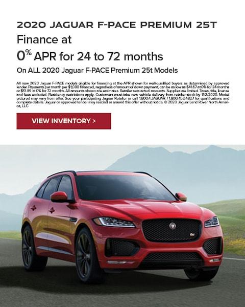 2020 jaguar f-pace Specials
