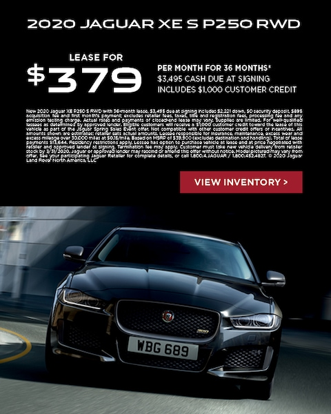 XE lease offer