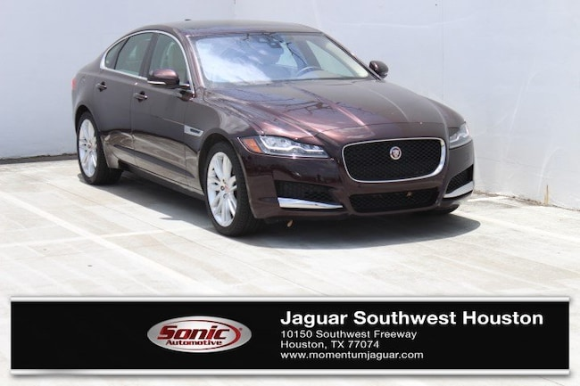 New 2018 Jaguar XF 35t Prestige Sedan in Houston