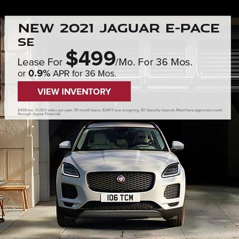 New 2021 Jaguar E-PACE SE