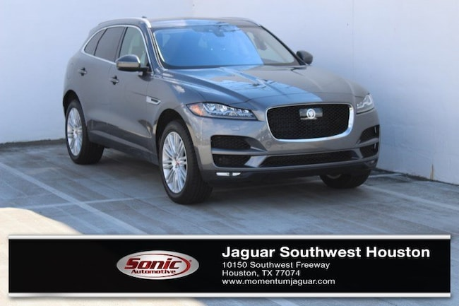 New 2019 Jaguar F-PACE 30t Portfolio SUV in Houston