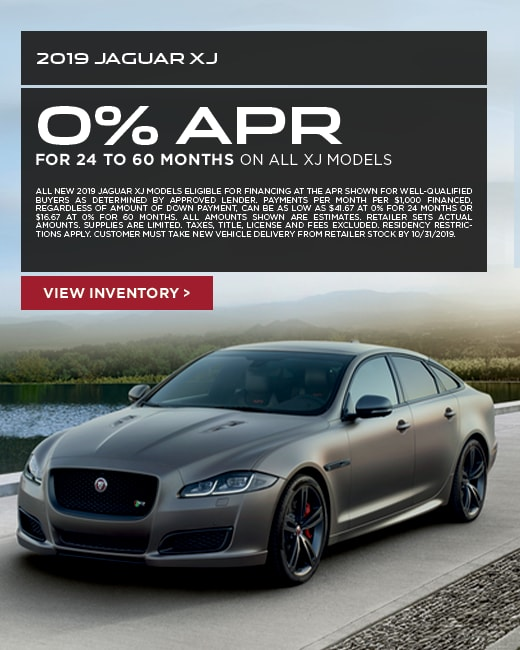 2019 Jaguar XJ Purchase Special