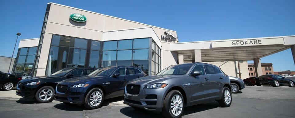 Exterior view of Jaguar Spokane