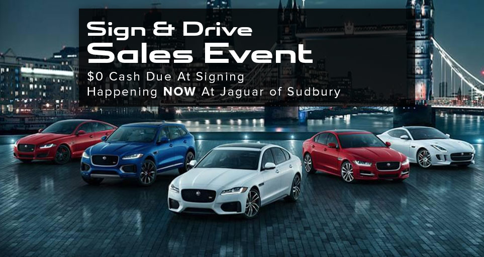Sign And Drive Jaguar Sales Jaguar Sudbury