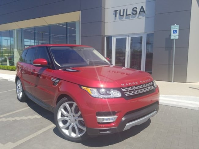 Used 2016 Land Rover Range Rover Sport 3.0L V6 Supercharged HSE SUV in Tulsa