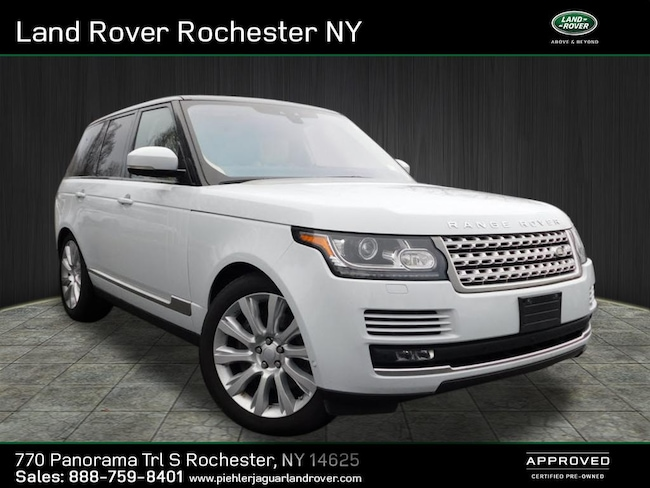 2017 Land Rover Range Rover Supercharged AWD Supercharged  SUV