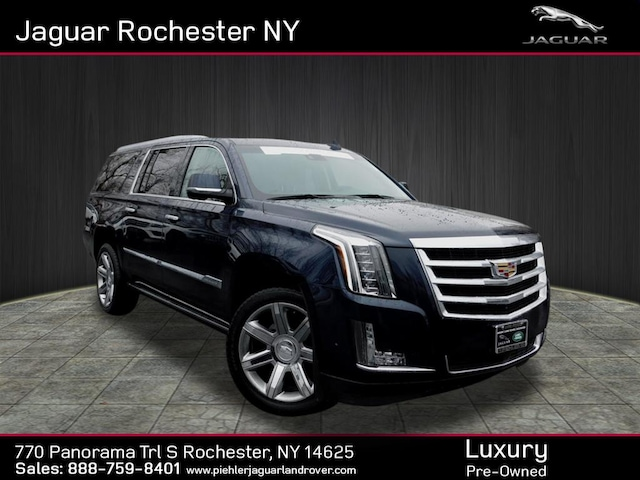2017 Cadillac Escalade Esv Premium Luxury >> Used 2017 Cadillac Escalade Esv For Sale At Jaguar Rochester