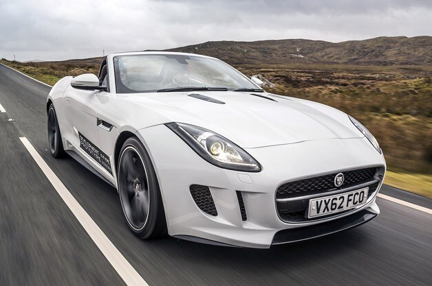 and the 2014 F-TYPE is...