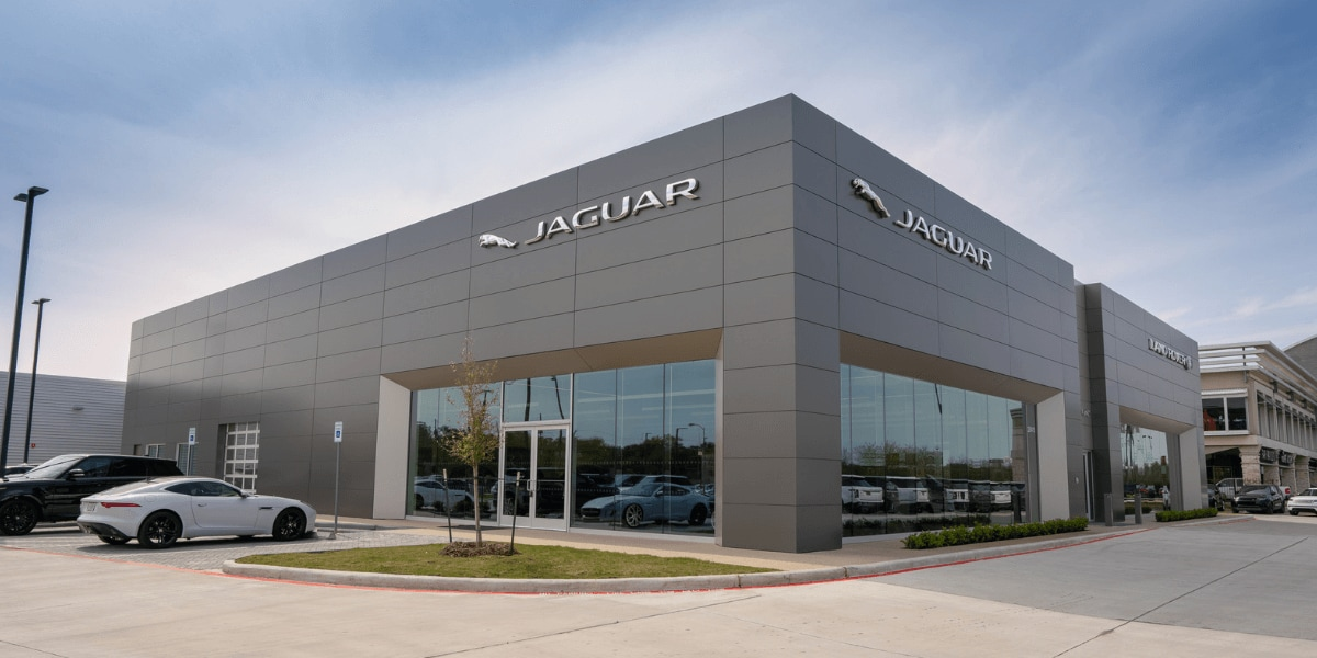 Outside view of Jaguar West Houston