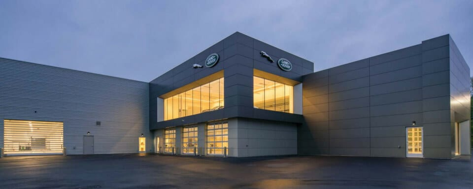 Jaguar White Plains service center entrance