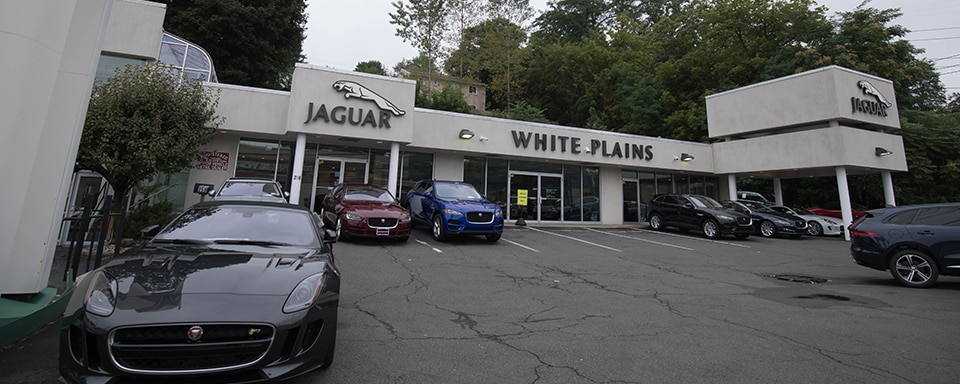 Exterior view of Jaguar White Plains