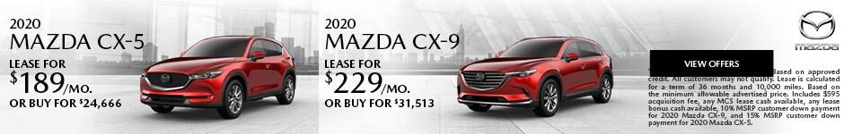2020 MAZDA CX-5, 2020 MAZDA CX-9