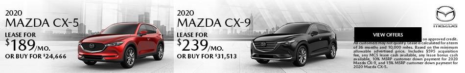 2020 MAZDA CX-5 2020 MAZDA CX-9