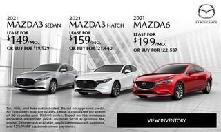 2021 MAZDA3 Sedan 2021 MAZDA3 HATCH 2021 MAZDA