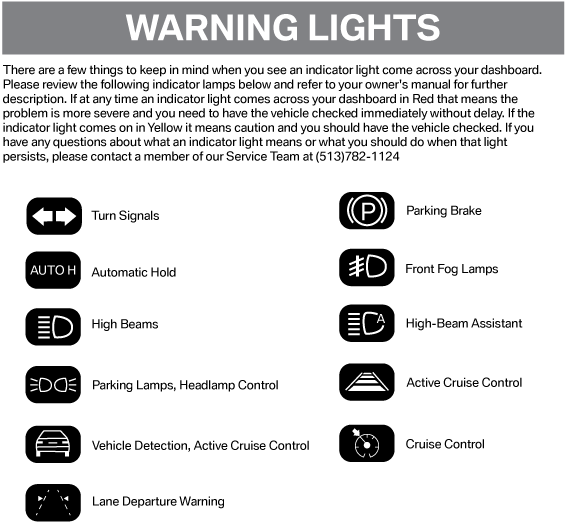 What Do The Warning Lights Mean On Your Bmw Bmw Of