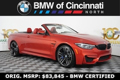 2018 BMW M Series M4 Convertible