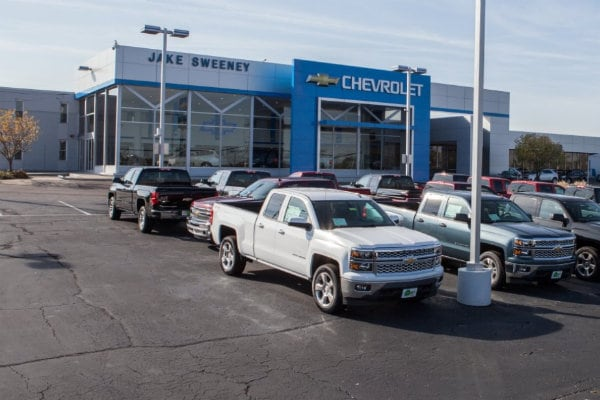 Jake Sweeney Chevrolet Dealership in Cincinnati
