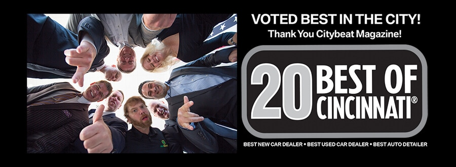 voted best auto detailer in Cincinnati, OH by Citybeat Magazine!