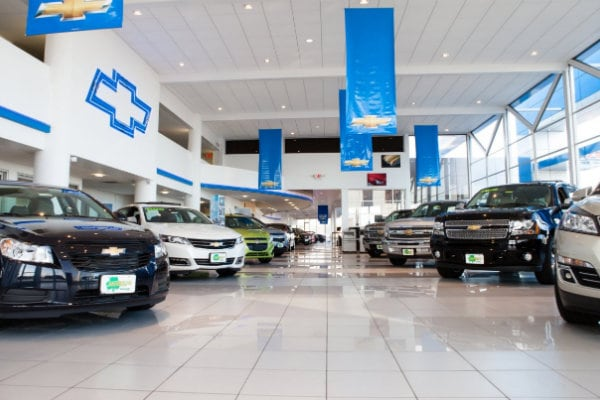 Jake Sweeney Chevrolet sales floor