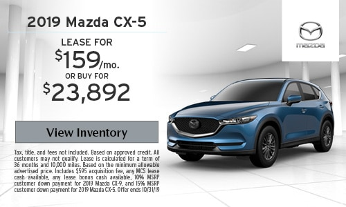 New Mazda Lease Specials & Offers