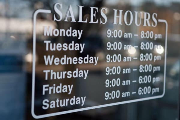 Jake Sweeney Mazda in Cincinnati sales hours