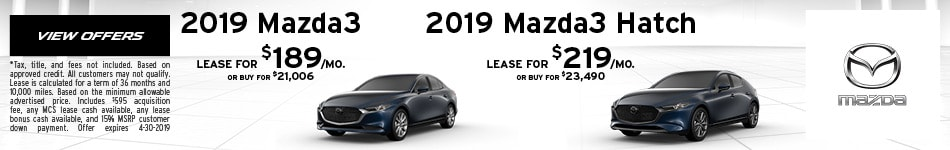 2019 Mazda3 or Mazda3 Hatch