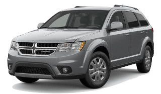 A silver 2019 Dodge Journey