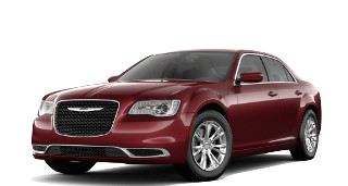 A red 2019 Chrysler 300