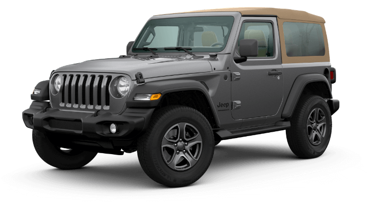2020 Jeep Wrangler Black & Tan