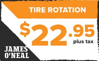 Tire Rotation Offer