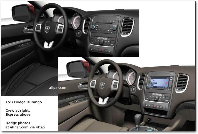 new 2011 durango james o 39 neal chrysler jeep dodge. Black Bedroom Furniture Sets. Home Design Ideas