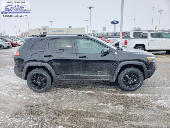 2019 Jeep Cherokee TRAILHAWK 4X4 Sport Utility J4222