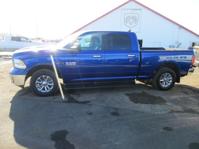 Used 2015 Ram 1500 SLT Crew Cab Truck for sale in Chinook, MT at Jamieson Motors