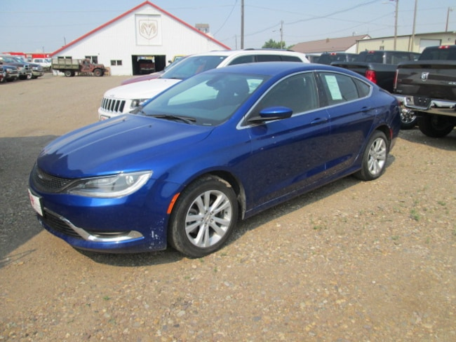 Used 2015 Chrysler 200 Limited Sedan for sale in Chinook, MT at Jamieson Motors