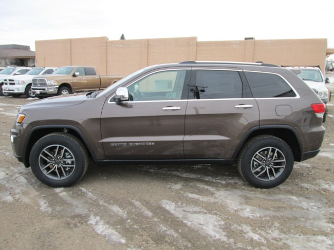 2019 Jeep Grand Cherokee LIMITED 4X4 Sport Utility for sale in Chinook, MT at Jamieson Motors