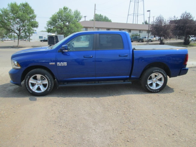 Used 2016 Ram 1500 Sport Crew Cab Truck for sale in Chinook, MT at Jamieson Motors