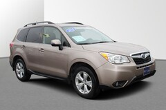 Certified Pre-Owned 2014 Subaru Forester 2.5i Touring Auto 2.5i Touring PZEV JF2SJAMC1EH516216 in Janesville, WI near Roscoe, IL