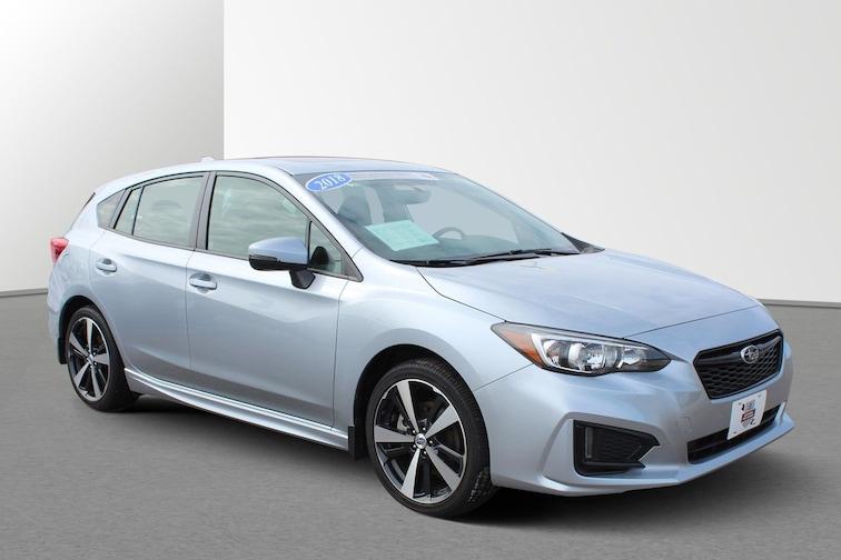 Used 2018 Subaru Impreza Sport 2.0i Sport  CVT For sale in Janesville