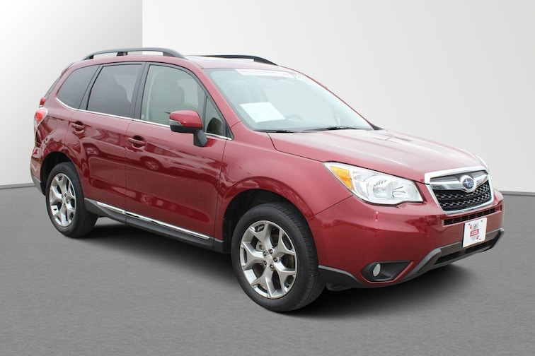 Certified 2016 Subaru Forester 2.5i Touring CVT 2.5i Touring PZEV For sale in Janesville