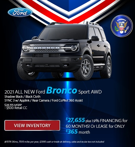 2021 ALL NEW Ford Bronco Sport AWD