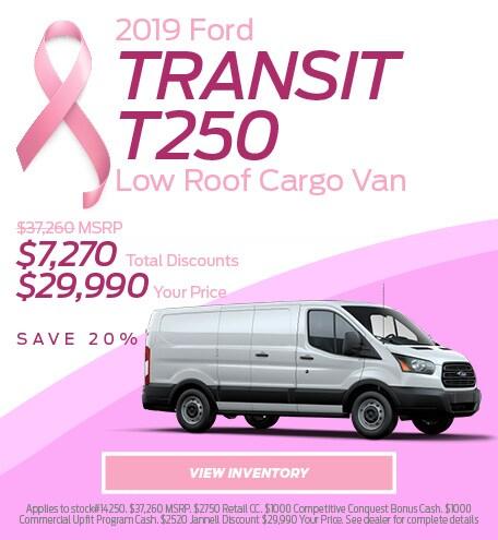 2019 Ford Transit T250 Low Roof Cargo Van